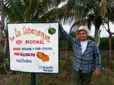 Der private Landwirt Hernández exportiert jetzt seine Limetten nach Spanien