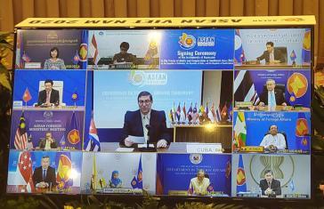 Kuba ist Mitglied beim  ASEAN