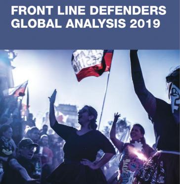 Bericht der Organisation Front Line Defenders zur Lage der Menschenrechte