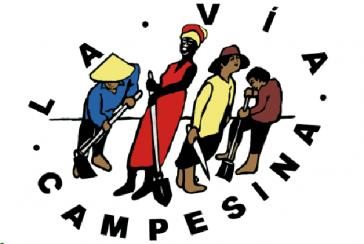 Logo des der Weltverbandes der Kleinbauern La Via Campesina