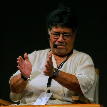 Luis Sepúlveda bei einer Lesung 2009