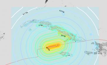 Am Dienstag ereignete sich ein Meeresbeben in der Nähe von Kuba