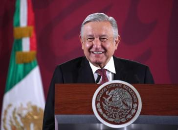 """""""Ende der Gewalt ist größte Herausforderung"""": Mexikos Präsident López Obrador bei seiner ersten Pressekonferenz 2020"""