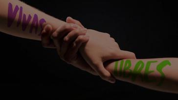 """Bild der Kampagne """"Mujeres Vivas y Libres"""" (Screenshot)"""