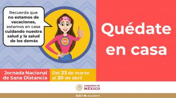 Die mexikanische Regierung informiert auf ihrer Internetseite über Covid-19