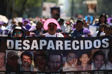 Angehörige fordern Aufklärung. Allein in den letzten vier Jahren sind in Mexiko um die 20.000 Menschen verschwunden