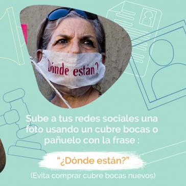 Unter dem Hashtag #CorazonesEnMarcha werden Menschen überall aufgefordert, am 10. Mai an der Internet-Demonstration teilzunehmen