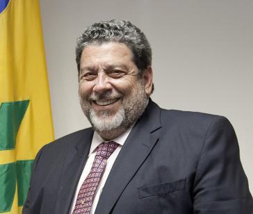 Ralph Gonsalves, alter und neuer Premierminister von St. Vincent und den Grenadinen und Parteichef der United Labour Party