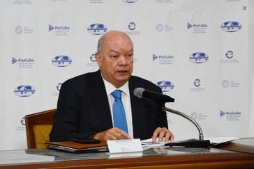 Außenhandelsminister Rodrigo Malmierca: Joint-Ventures mit ausländischer Mehrheitsbeteiligung werden akzeptiert