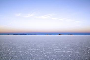 Der Salar de Uyuni im Südwesten Boliviens, beherbergt eines der weltweit größten Lithiumvorkommen