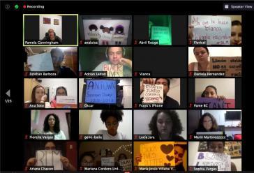 """Am 3. Juni beteiligten sich in Costa Rica über 1.000 Menschen an einem virtuellen Protestaktion unter dem Motto """"Black Lives Matter"""""""