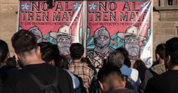 Der Bau der Strecke des Tren Maya erhält in Mexiko viel Ablehnung