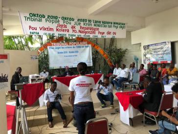 Die in Haiti durch UN-Blauhelme ausgelöste Cholera-Epidemie forderte vor zehn Jahren mehrere Zehntausend Tote