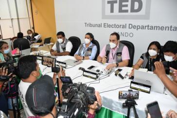 Die Wahlbehörde TSE hatte sich am Dienstag für den schleppenden Fortschritt entschuldigt