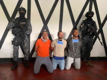 Festnahmen in der Colonia Tovar in Venezuela