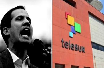 """Guaidó will einen """"Anti-Telesur""""-Sender ins Leben rufen"""