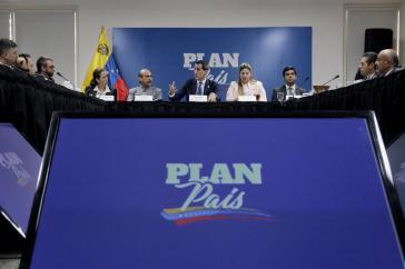 """Guaidó versprach zu Jahresbeginn den baldigen Sturz Maduros und stellte einen """"Plan für das Land"""" vor, von dem heute keine Rede mehr ist"""