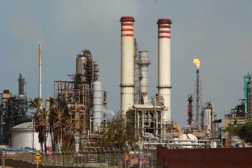 Der Raffineriekomplex Amuay