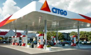 Citgo-Tankstelle in den USA. 2019 wurde das Unternehmen von US-Behörden beschlagnahmt