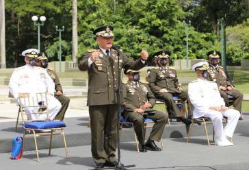 Warnt die US-Regierung vor weiteren Provokationen: Venezuelas Verteidigungsminister Padrino