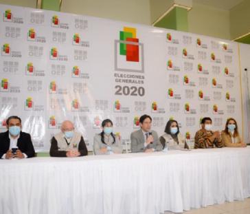 Bekanntgabe der Endergebnisse durch die Wahlbehörde TSE