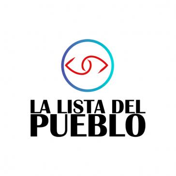Das Logo der Volksliste, die unter großen Hoffnungen der Linken in Chile begonnen hatte, sich mittlerweile aber weitgehend aufgespalten hat