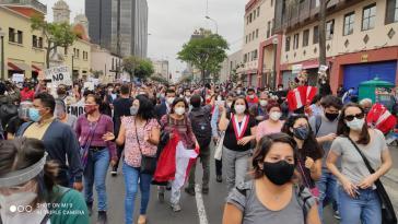 Im November 2020 gingen Millionen Menschen für einen politischen Wandel auf die Straße