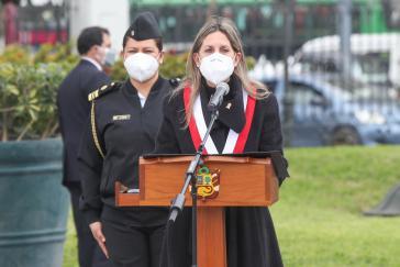 Die Parlamentspräsidentin von Peru: María del Carmen Alva