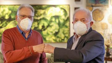 Der Soziologe Cardoso (links), der von 1995 bis 2002 Brasilien regierte, will Lula, Präsident von 2003 bis 2010, bei den Wahlen 2022 unterstützen, sollte es zu einer Stichwahl mit Bolsonaro kommen