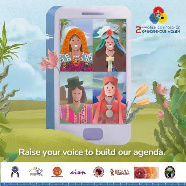 Die zweite Globale Konferenz indigener Frauen nach der ersten 2013 in Lima