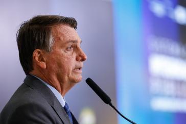 Der Druck steigt auf Präsident Jair Bolsonaro in Brasilien wegen jüngster möglicher Falschaussagen bezüglich des Wahlsystems