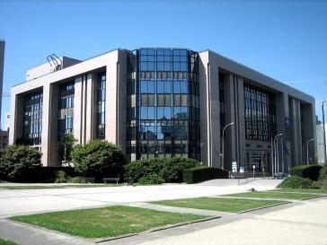 Der Sitz des Generalsekretariats des Europäischen Rats in Brüssel