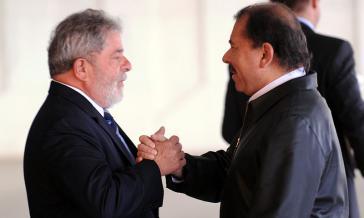 Im Jahr 2010: Lula da Silva empfing seinen Amtskollegen Daniel Ortega