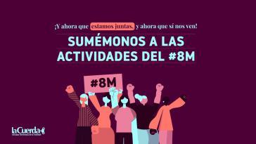 Überall in Lateinamerika, wie hier in Guatemala, sind der Pandemie zum Trotz zahlreiche Aktionen zum Weltfrauentag geplant