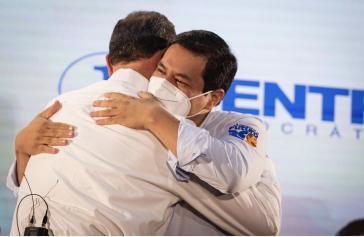 Weiterhin gibt es Kampagnen gegen das Unes-Kandidatenduo Arauz/Rabascall vor den Wahlen am Sonntag in Ecuador