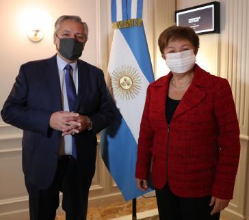 Argentiniens Präsident Fernández und IWF-Chefin Georgieva trafen sich in Rom