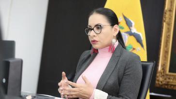 Die Präsidentin der Obersten Wahlbehörde von Ecuador, Diana Atamaint, musste bekanntgeben, dass es doch keine Neuauszählung geben wird. Sie persönlich hätte es sich anders gewünscht...