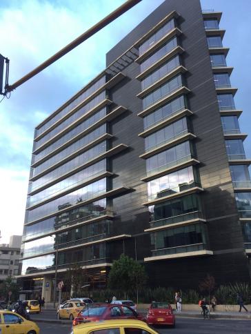 Hauptsitz der Sonderjustiz für den Frieden in Bogotá