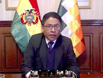 Boliviens Justizminister Iván Lima Magne