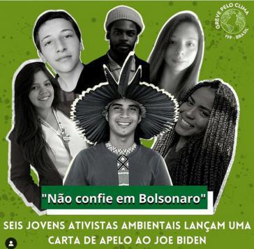 Die sechs Fridays for Future-Aktivistas aus Brasilien