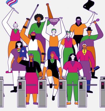 Die Coordinadora Feminista 8M ist eine treibende Kraft des Auftstands in Chile