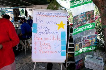 Carola Fredes im Straßenwahlkampf am Wochenende