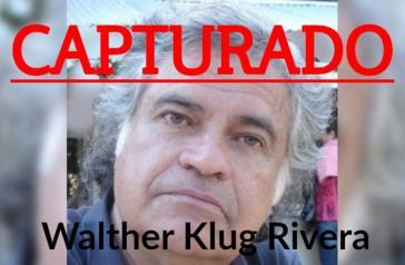Klug wurde am 12. Juni in Buenos Aires verhaftet
