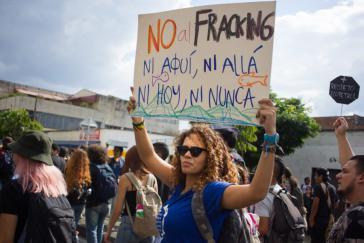 In Kolumbien regt sich seit Jahren Widerstand gegen die umstrittene Fracking-Methode