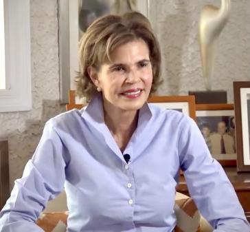 Cristiana Chamorro, Journalistin, Geschäftsführerin der Stiftung Violeta Barrios de Chamorro (FVBCH) und Oppositionspolitikerin