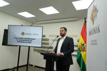Bolivianischer Innenminister Eduardo del Castillo