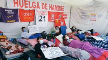 Lehrer:innen streiken in Pichincha für die Implementierung des Gesetzes LOEI