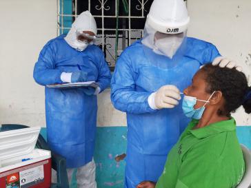 In Ecuador stieg die Zahl der Corona-Neuinfektionen zuletzt wieder deutlich an