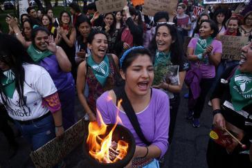 Seit Jahren kämpfen Frauen in Ecuador für freie und sichere Abtreibung