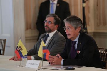 "Ecuadors Präsident Lasso zu Gast beim ""Council on the Americas"" am 20. September"